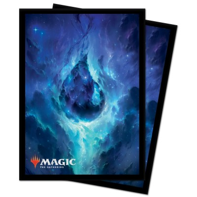 Protèges Cartes illustrées Magic the Gathering Celestial - 100 Pochettes - Island