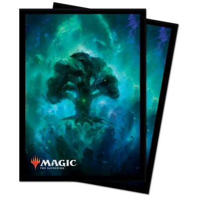 Protèges Cartes illustrées Magic the Gathering Celestial - Forêt