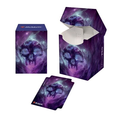 Boite de rangement illustrée Magic the Gathering Celestial - Deck Box 100+ - Swamp