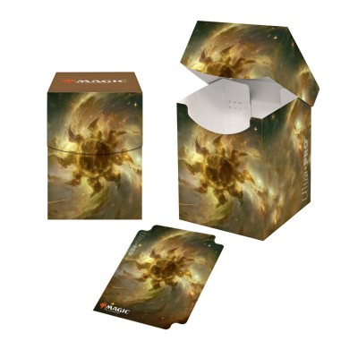 Boites de rangement illustrées Magic the Gathering Celestial - Deck Box 100+ - Plains