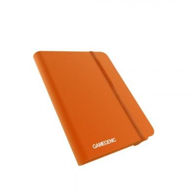 Portfolios  Binder - 20 pages -  8 pochettes - Orange