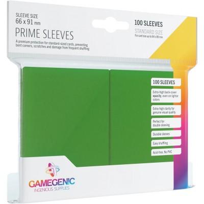 Protèges Cartes  100 Pochettes - Prime - Vert