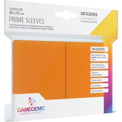 Protèges Cartes 100 Pochettes - Prime - Orange