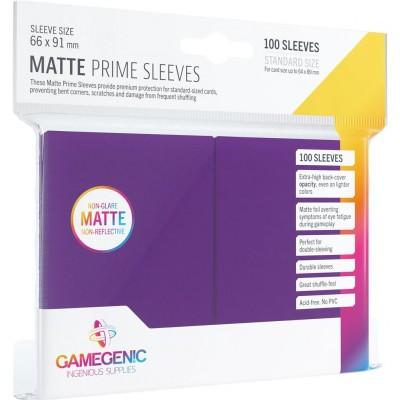 Protèges Cartes  100 Pochettes - Prime Matte - Violet