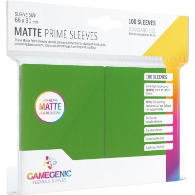 Protèges Cartes  100 Pochettes - Prime Matte - Vert