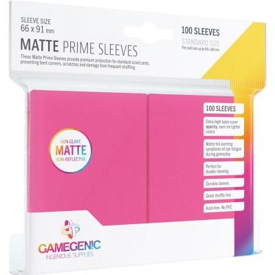 Protèges Cartes  100 Pochettes - Prime Matte - Rose