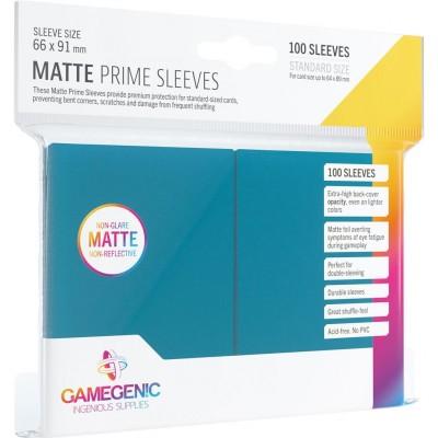 Protèges Cartes 100 Pochettes - Prime Matte - Bleu