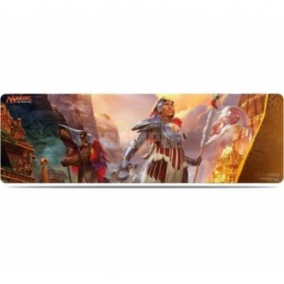 Tapis de Jeu Magic the Gathering Grand Tapis de Draft - Les Combattants d'Ixalan (8 personnes)