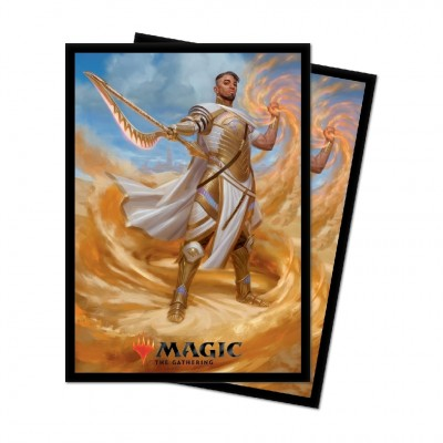 Protèges Cartes illustrées Magic the Gathering Edition de base 2021 - 100 pochettes - V1 - Basri