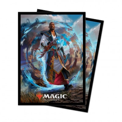 Protèges Cartes illustrées Magic the Gathering Edition de base 2021 - 100 pochettes - V2 - Tefeiri