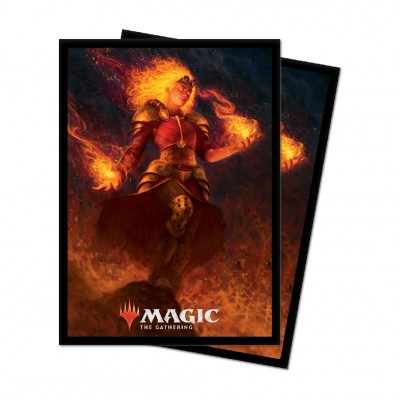 Protèges Cartes illustrées Magic the Gathering Edition de base 2021 - 100 pochettes - V4 - Chandra