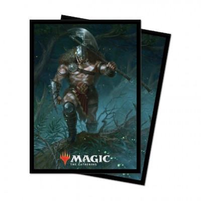 Protèges Cartes illustrées Magic the Gathering Edition de base 2021 - 100 pochettes - V5 - Garruk