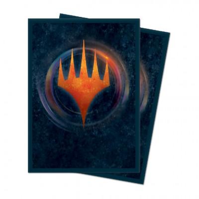 Protèges Cartes illustrées Edition de base 2021 - 100 pochettes - V6 - Symbole Planeswalker