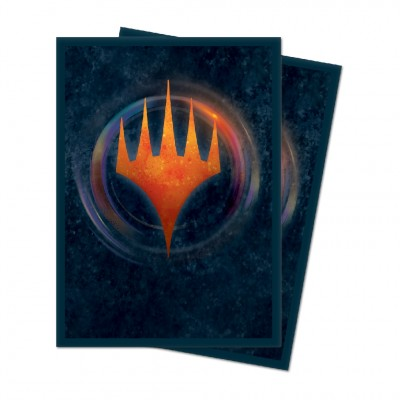 Protèges Cartes illustrées Magic the Gathering Edition de base 2021 - 100 pochettes - V6 - Symbole Planeswalker