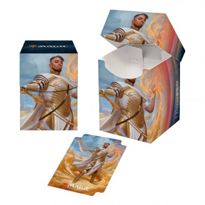 Boite de rangement illustrée Magic the Gathering Edition de Base 2021 - Deck Box 100+ - V1 - Basri