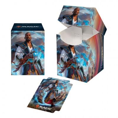 Boite de rangement illustrée Magic the Gathering Edition de Base 2021 - Deck Box 100+ - V2 - Tefeiri
