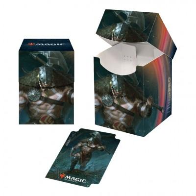 Boite de rangement illustrée Edition de Base 2021 - Deck Box 100+ - V5 - Garruk