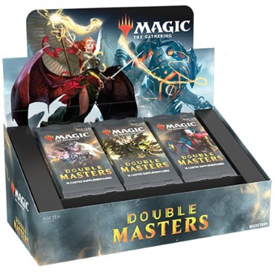 Boite de Boosters Magic the Gathering Double Masters - 24 boosters + 2 Cartes Buy a Box