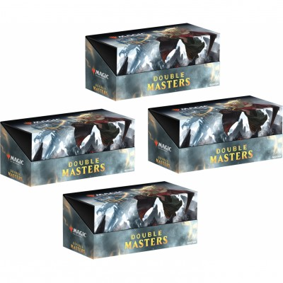 Boites de Boosters Magic the Gathering Double Masters - Lot de 4