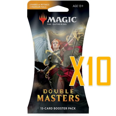 Boosters Magic the Gathering Double Masters - Lot de 10