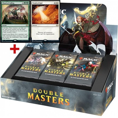 Boite de Boosters Magic the Gathering Double Masters- 24 bossters + 2 Cartes Buy a Box