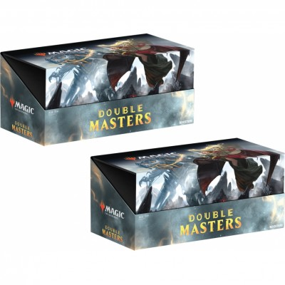 Boites de Boosters Magic the Gathering Double Masters - Lot de 2