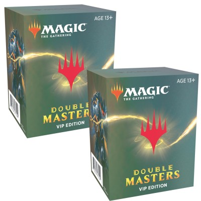 Boosters Magic the Gathering Double Masters VIP - Lot de 2