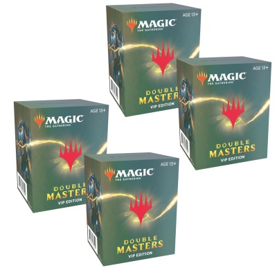 Boosters Magic the Gathering Double Masters VIP - Lot de 4