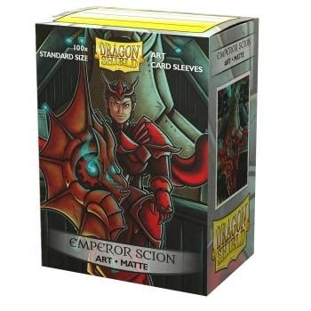 Protèges Cartes illustrées  100 pochettes - Emperor Scion : Portrait