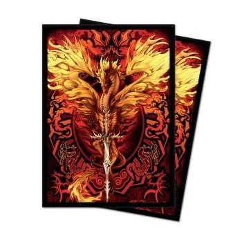 Protèges Cartes 100 pochettes - Deck Protector - Flameblade