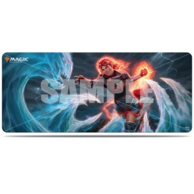 Tapis de Jeu Magic the Gathering Edition de Base 2020 - Grand Tapis de Draft (6 personnes)