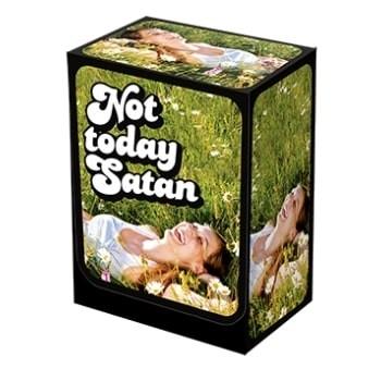 Boites de rangement illustrées Deck Box 100+ - Not Today Satan