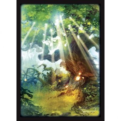 Protèges Cartes illustrées  50 Pochettes - double matte - Svetlin Velinov - Forêt