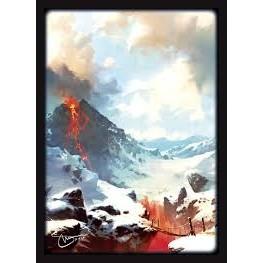 Protèges Cartes illustrées 50 Pochettes - double matte - Svetlin Velinov - Montagne