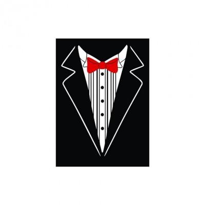 Protèges Cartes illustrées  50 Pochettes - double matte - Tuxedo