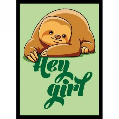 Protèges Cartes illustrées  50 Pochettes - Hey girl