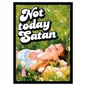 Protèges Cartes illustrées  50 Pochettes - Not today Satan