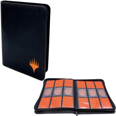 Portfolio Magic the Gathering Zippered Suede PRO-Binder - 20 pages de 9 cases (360 cartes recto-verso) - Mythic Edition