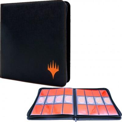 Portfolios Zippered Suede 12-Pocket PRO-Binder - Mythic Edition