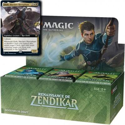 Boites de Boosters Renaissance de Zendikar + Carte Promo Buy-a-Box (Retrait magasin)