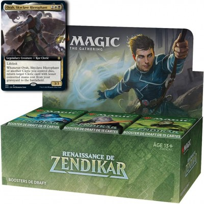 Boite de Boosters Magic the Gathering Renaissance de Zendikar - 36 Boosters de draft + Carte Promo Buy-a-Box (Retrait magasin)