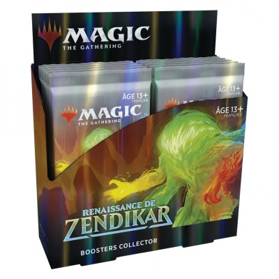 Boites de Boosters Renaissance de Zendikar - Collector Boosters - Lot de 12