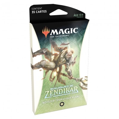 Booster Magic the Gathering Renaissance de Zendikar - Booster Thématique Blanc