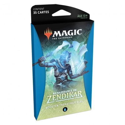 Boosters Magic the Gathering Renaissance de Zendikar - Booster Thématique Bleu