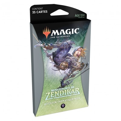 Booster Magic the Gathering Renaissance de Zendikar - Booster Thématique Noir