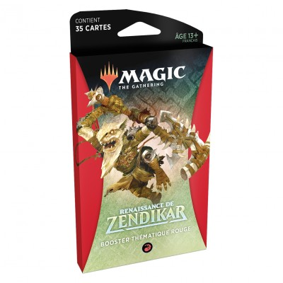 Booster Magic the Gathering Renaissance de Zendikar - Booster Thématique Rouge