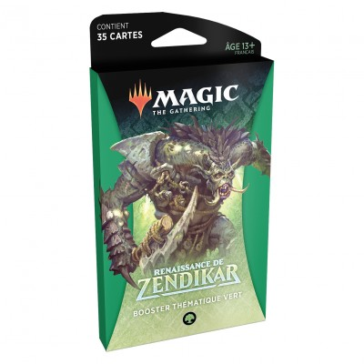 Booster Magic the Gathering Renaissance de Zendikar - Booster Thématique Vert
