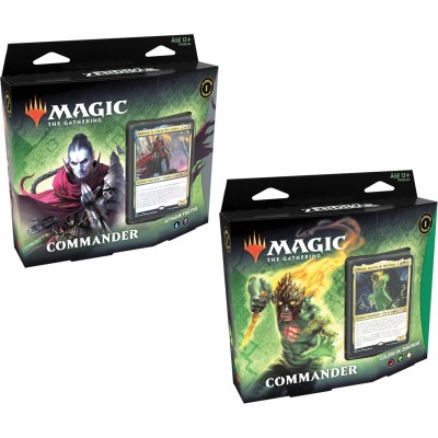 Deck Magic the Gathering Renaissance de Zendikar - Commander - Lot de 2 différents