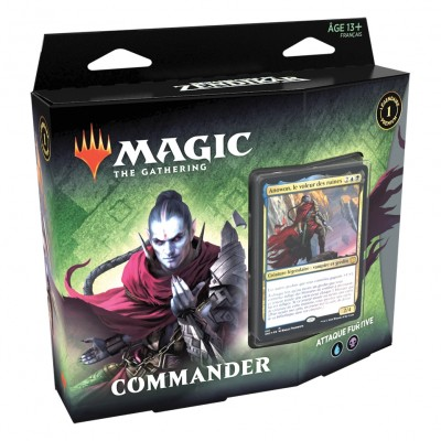 Deck Magic the Gathering Renaissance de Zendikar - Commander - Attaque Furtive