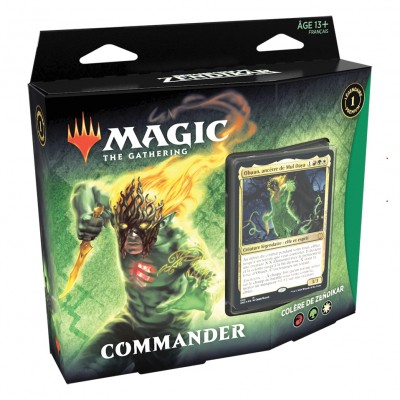 Decks Magic the Gathering Renaissance de Zendikar - Commander - Colère de Zendikar